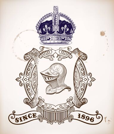ephemera: Heraldic design