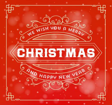 greeting christmas: Christmas greeting card background. Illustration