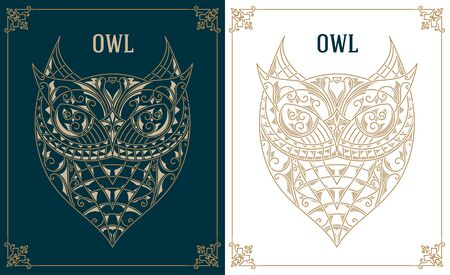 retro: Vintage owl Retro