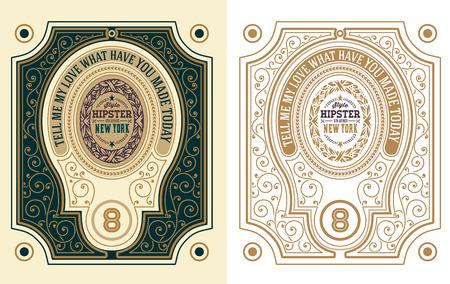 ephemera: Retro Cards Set