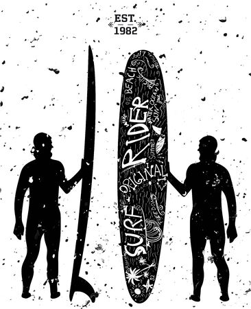 finger fish: Surfing Design