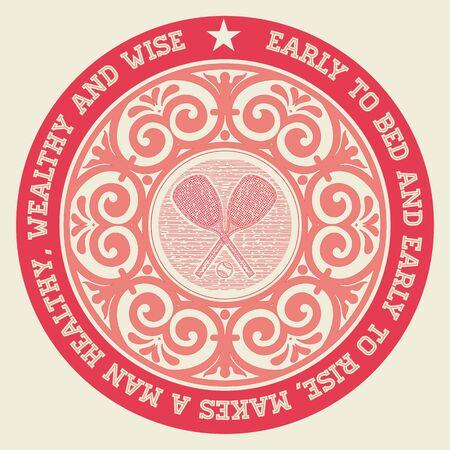 ephemera: Retro badge