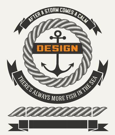 cordage: Marine design with elements