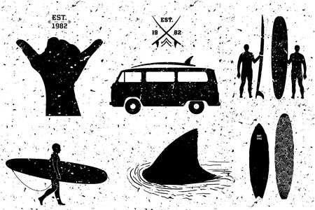 finger fish: Surfing resources, grunge style layered