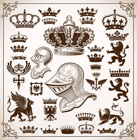 shield with wings: Heraldry Resources