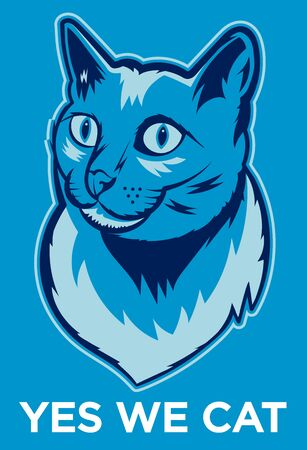 humorous: Yes We Cat Poster.