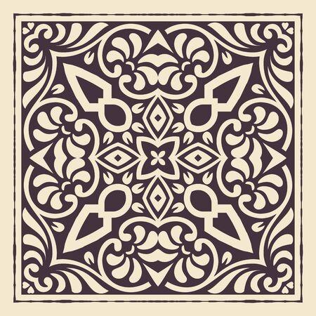 escudo: Vintage design. Elements by layers.