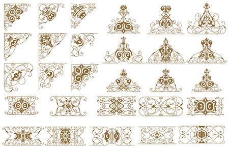 arabesco: Conjunto de Recursos de diseño.