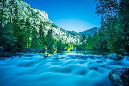 River in Yosemite Valley, Yosemite National Park, California, USA