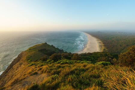 Sunrise over Byron Bay, New South Wales, Australia