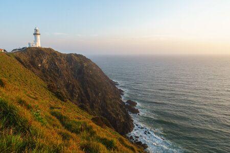 Sunsrise at Byron Bay Lighthouse, New South Wales, Australia