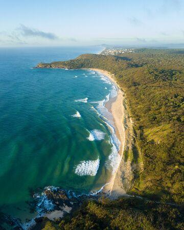 Sunrise over Alexandria Bay, Noosa National Park, Noosa Heads, Sunshine Coast, Queensland, Australia Banco de Imagens