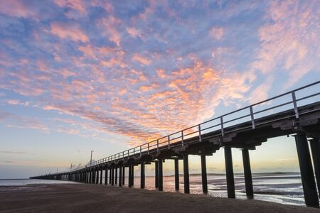 Sunrise over Urangan Pier, Hervey Bay, Fraser Coast, Queensland, Australia