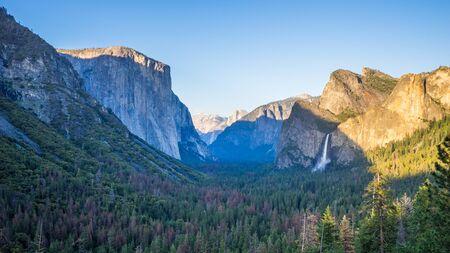 El Capitan from Tunnel View, Yosemite National Park, California, USA