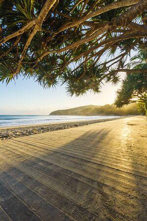 Boardwalk on Noosa Beach, Noosa Heads, Sunshine Coast, Queensland, Australia