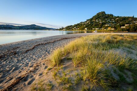 Landscape photo of Pauanui Beach and Mt Paku, Tairua, Coromandel Peninsula