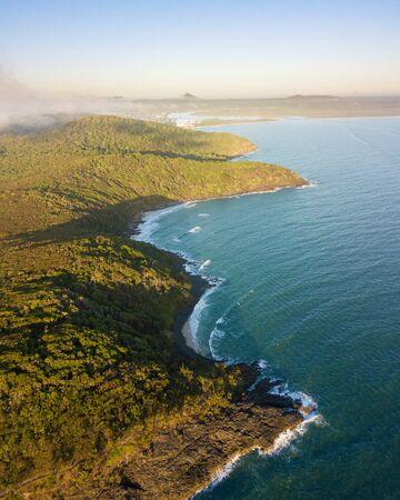 Sunset over Tea Tree Bay, Noosa National Park, Noosa Heads, Sunshine Coast, Queensland, Australia