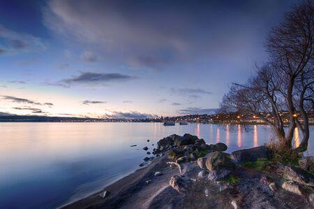 Landscape photo of Two Mile Bay, Lake Taupo, New Zealand