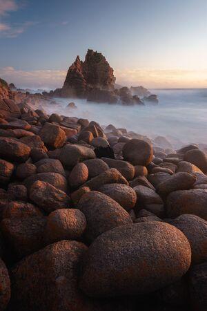 The Pinnacles at sunset, Phillip Island, Victoria, Australia