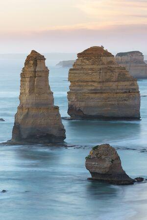 Sea stacks at the Twelve 12 Apostles, Great Ocean Road, Victoria, Australia