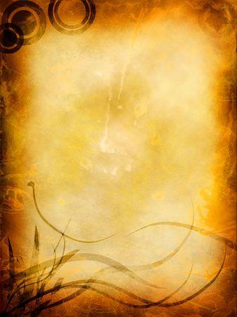 rękopis: Grunge tła z miejsca dla tekstu lub obrazu