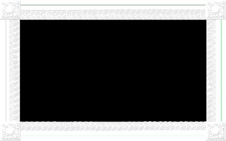 Photo frame for web or wallpaper on desktop Stock Photo - 7506297