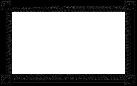 Photo frame for web or wallpaper on desktop Stock Photo - 7506293