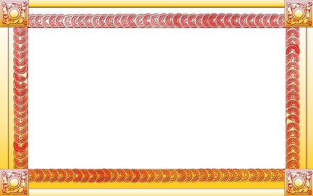 Photo frame for web or wallpaper on desktop Stock Photo - 7506387
