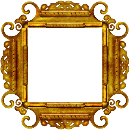 Photo Frame For Web Or Wallpaper On Desktop Stock Photo, Picture And ...