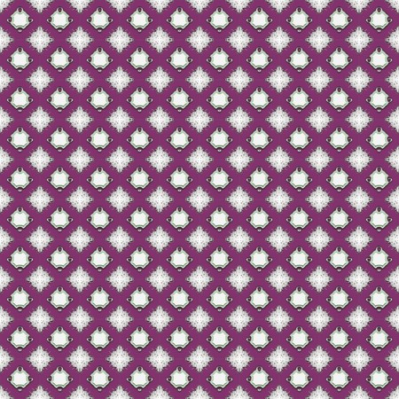 Seamless background for wallpaper or textile with classy patterns photo