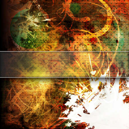 Grunge background with space for text or image Stock Photo - 7638663