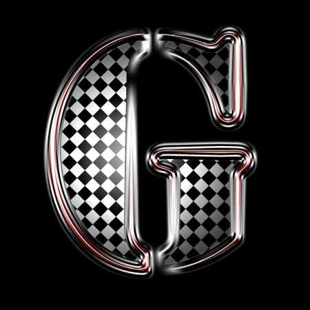 alphabet symbole peint design Banque d'images - 7640896