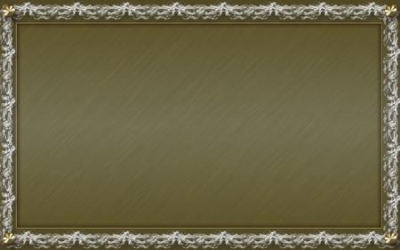 Photo frame for web or wallpaper on desktop photo