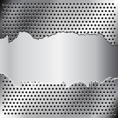 grid black background: Metal background for your design