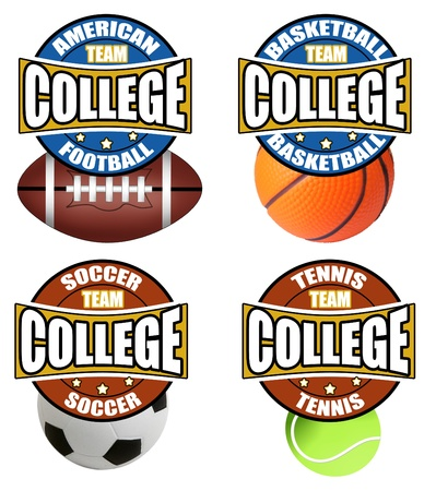 College Sport Stock Vector - 11550771
