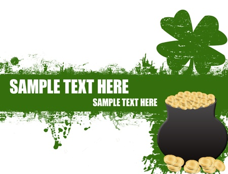grunge Saint Patrick Stock Vector - 11536110