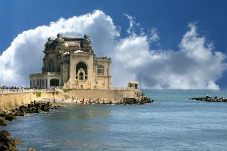 The Old casino in Constanta, Romania, on the Black Sea coast  版權商用圖片