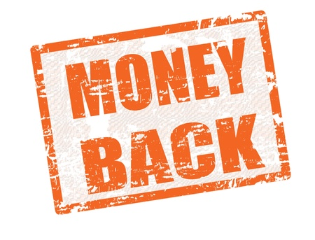 Grunge rubber stamp with the text Money Back inside, Stock Vector - 13936225