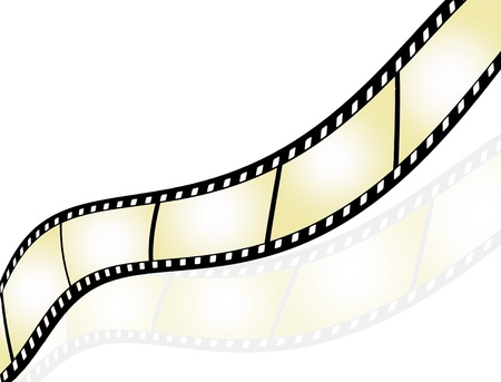Film strip background with place for text Vector