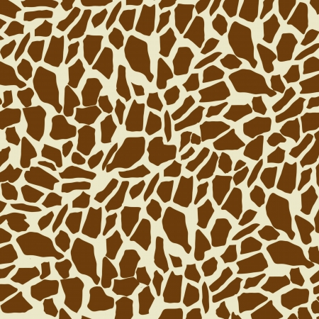 Giraffe pattern background, vector illustration Vector