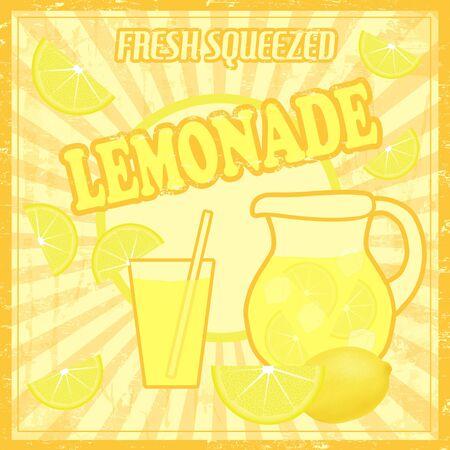 limonada: Lemonade cartel de estilo vintage