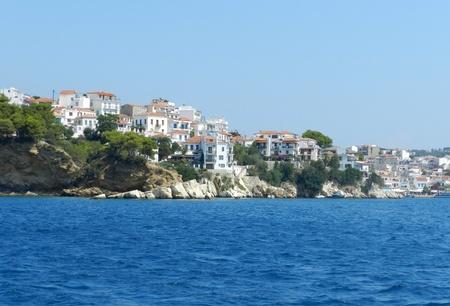 Beautiful island of Skiathos in Greece Stock Photo - 20854456