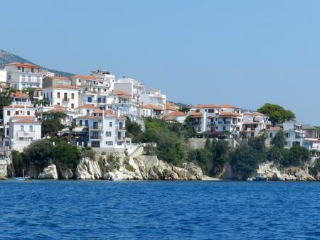 skiathos: Beautiful island of Skiathos in Greece
