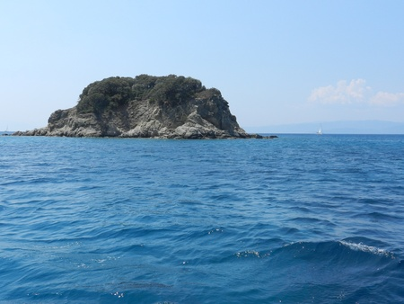 mediteranean: Island in Mediteranean Sea