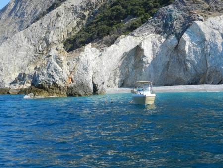 skiathos:  Lalaria beach from Skiathos