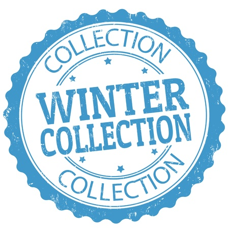 Winter collection grunge rubber stamp, vector illustration Stock Vector - 21072410