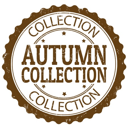 Autumn collection grunge rubber stamp, vector illustration Stock Vector - 21072411