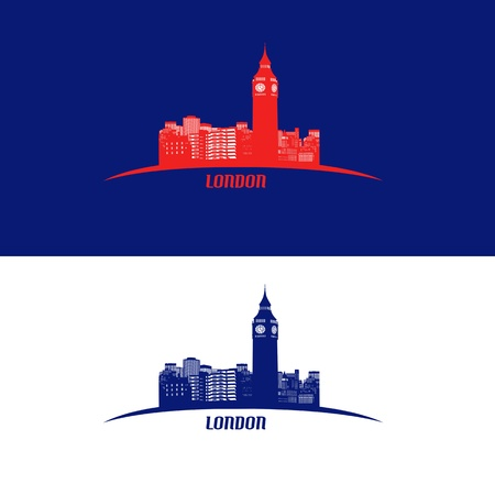 London skyline symbol  - vector illustration Stock Vector - 21635588