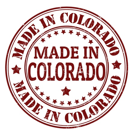 Made in Colorado grunge rubber stamp, vector illustration Stock Vector - 21854256