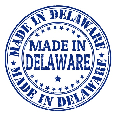 Made in Delaware grunge rubber stamp, vector illustration Stock Vector - 21854252